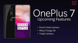 OnePlus 7 release Date, Leaks, news & Rumours